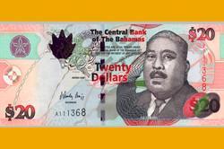 20 Багамских долларов
