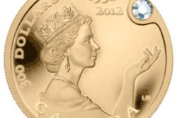 Монета  300 канадских долларов