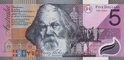 5 новых австралийских долларов