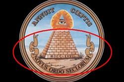 Лента «NOVUS ORDO SECLORUM»