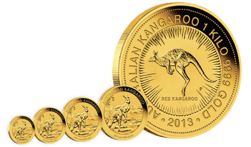 Монеты с кенгуру