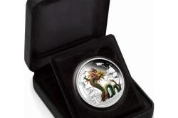 Тувалу – 2012 – 1 Доллар – Китайский дракон
