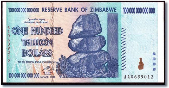 Доллар государства Зимбабве