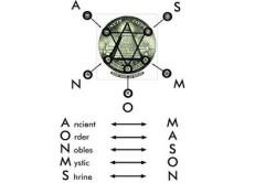 Шести конечная звезда масон