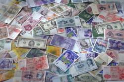 Купюры разных валют