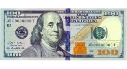 Новая банкнота в 100 долларов