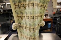 Производство американских долларов