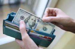 Расчет за товары долларами