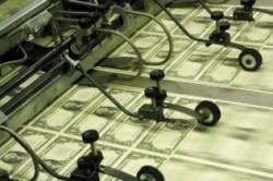 Печать долларов США