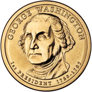 1 доллар с портретом президента США