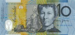 10 австралийский долларов – оборотная сторона