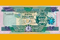 50 Долларов Соломоновых Островов