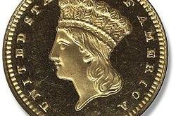 Аверс золотого доллара 2-го типа