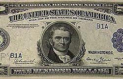 Купюра 500 долларов