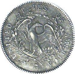 Монета Аверс 1 доллара 1794 года