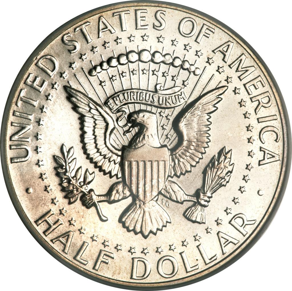 Половина доллара. Серебряная монета США