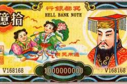 Ритуальные деньги Китая