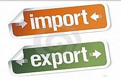 Импорт- приобретение зарубежного товара, экспорт - продажа за рубеж
