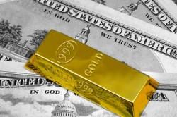 Доллар на вес золота