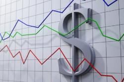 График развития доллара