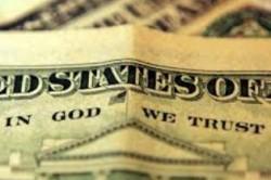 Надпись In God we trust на долларах