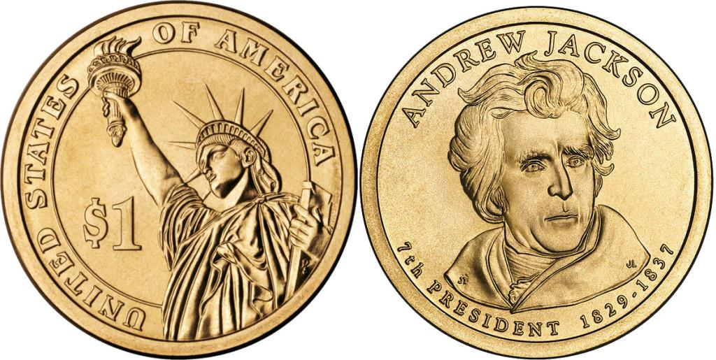 1 доллар США 2008 года