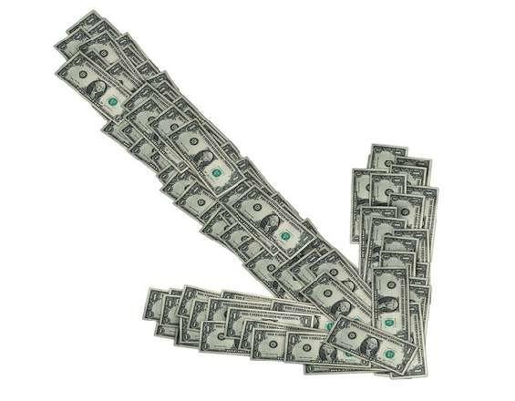 Понижение курса доллара