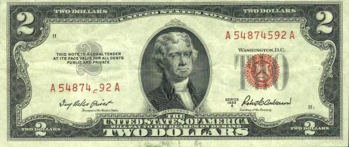 Два доллара США