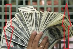 Повышение и спад курса доллара