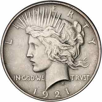 Доллар США монета Либерти