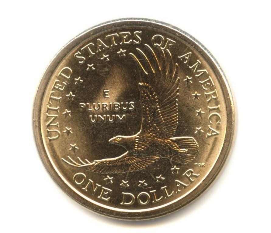 Монета 1 доллар 2007 года