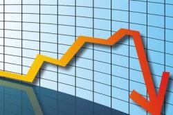 Резкое падение доллара